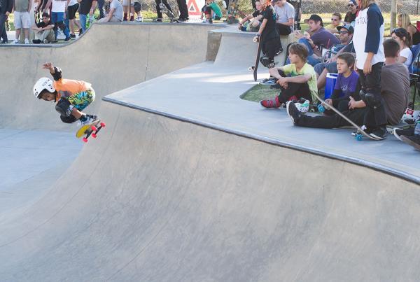 Kainalu Canubida at Lakeland Skatepark