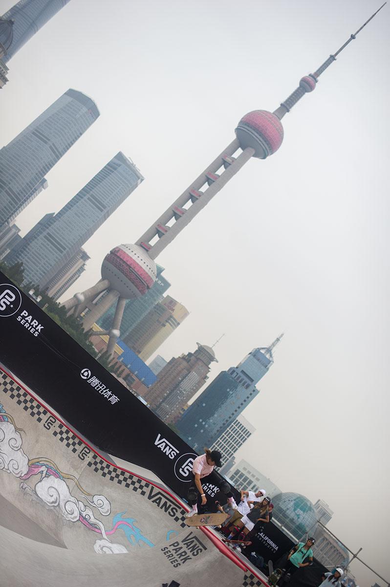 Vans Park Series Shanghai - Kickflip Pivot Fakie