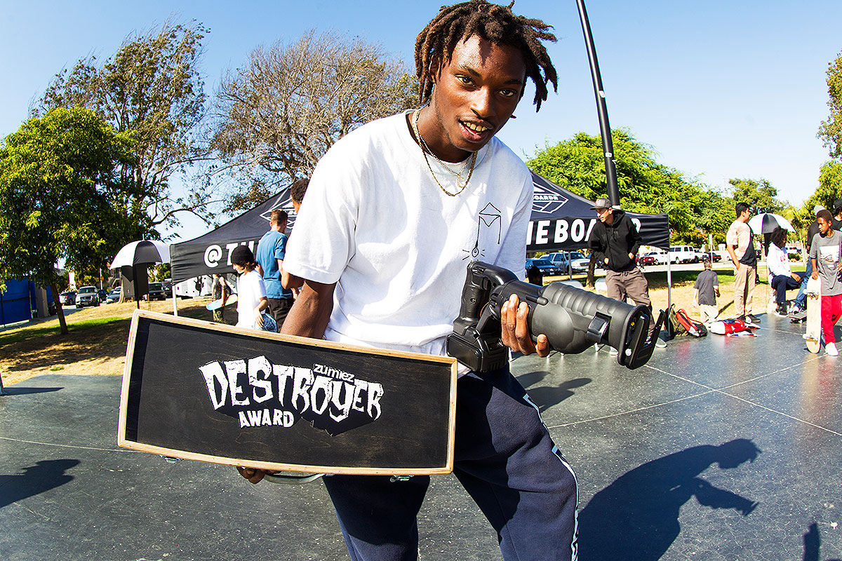 The Boardr Am at Los Angeles 2017 - Zumiez Destroyer