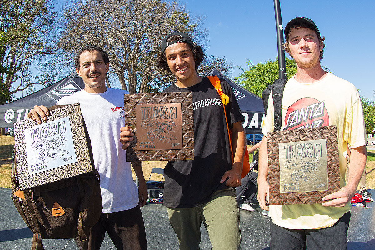 The Boardr Am at Los Angeles 2017 - Winners