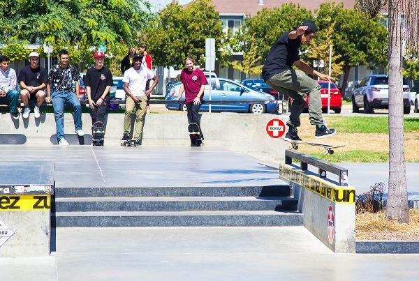 The Boardr Am at Los Angeles 2017 - KFFSBS Fakie