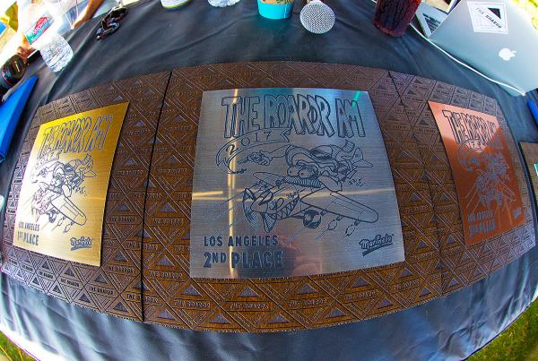 The Boardr Am at Los Angeles 2017 - Trophies