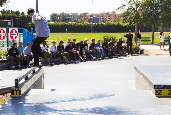 The Boardr Am at Los Angeles 2017 - Frontside 5-0