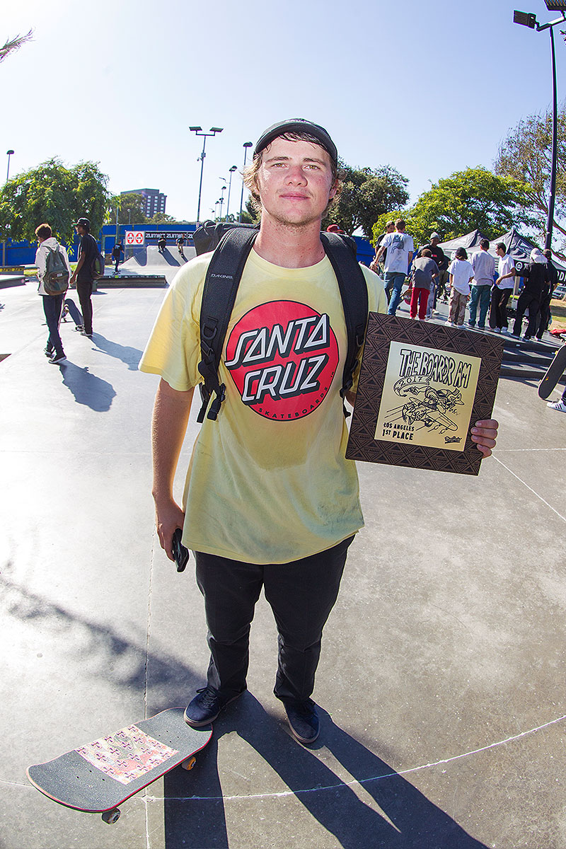 The Boardr Am at Los Angeles 2017 - Dylan Wins