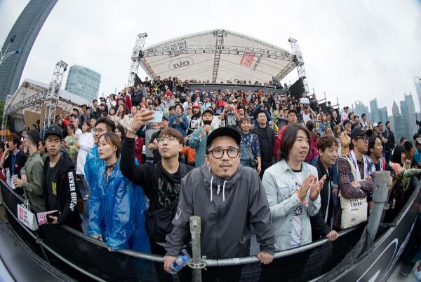 Vans Park Series Shanghai Crowd