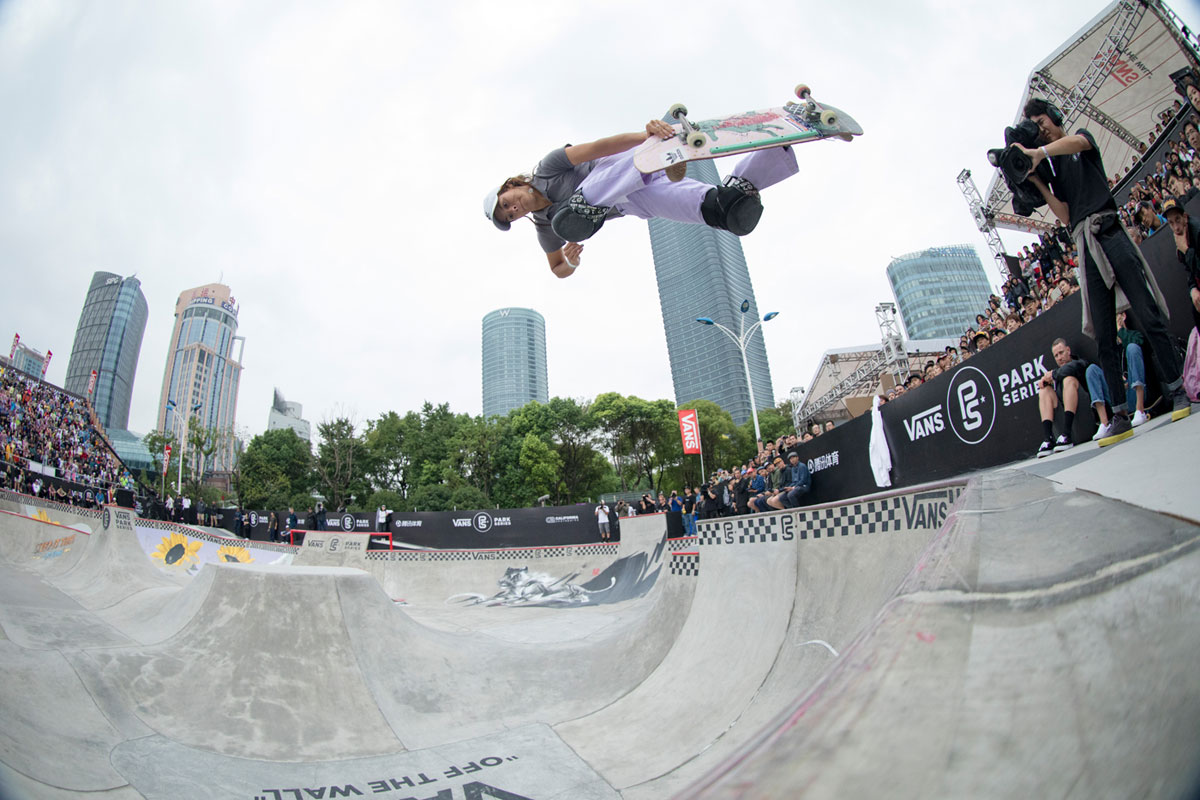 Vans Park Series Shanghai - Backside Air
