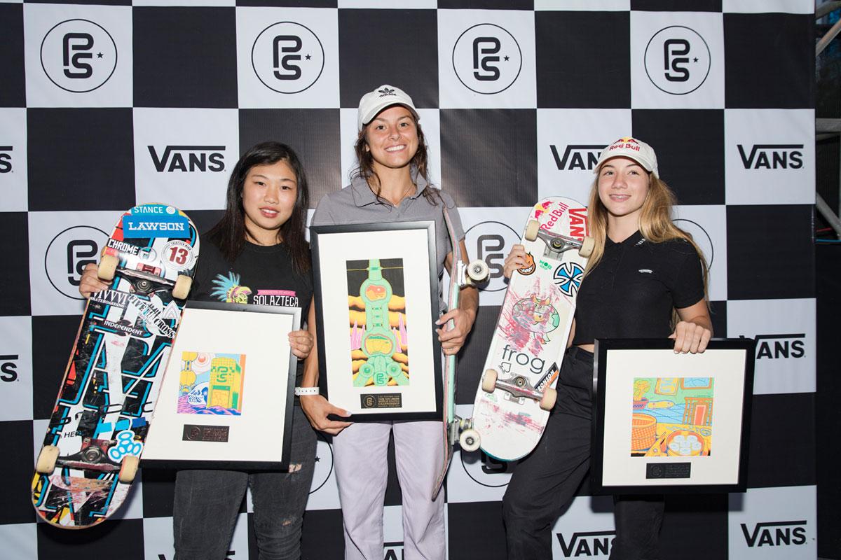 Vans Park Series Shanghai - Nora Wins
