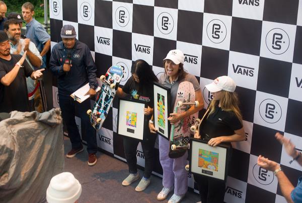 Vans Park Series Shanghai - Nora Wins It
