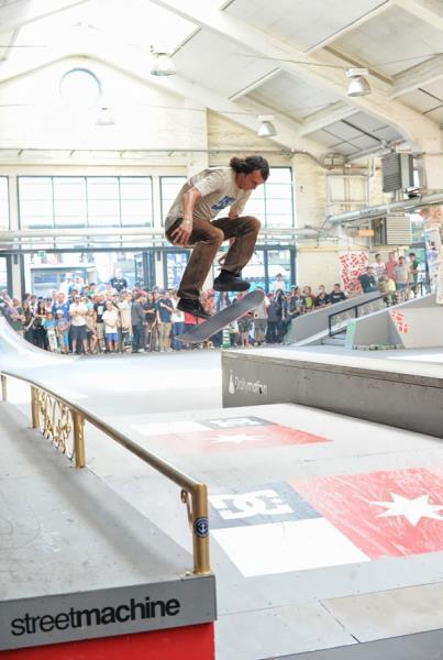 Evan Smith 360 Flip at Copenhagen Pro