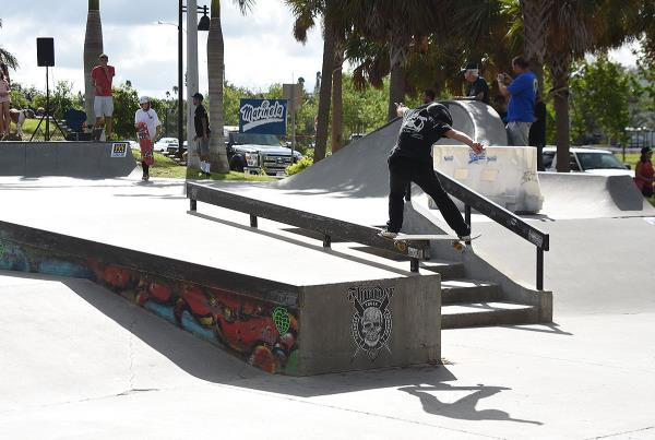 Grind for Life at Bradenton 2017 - Noah Front Board