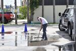 Marinela Demos in Florida - Skateboard Clean Up