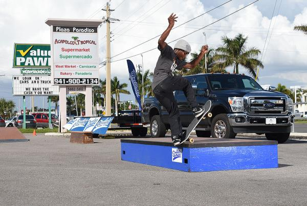 Marinela Demos in Florida - Front Blunt