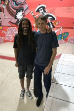 Vern and Tony at Woodward Cancun.