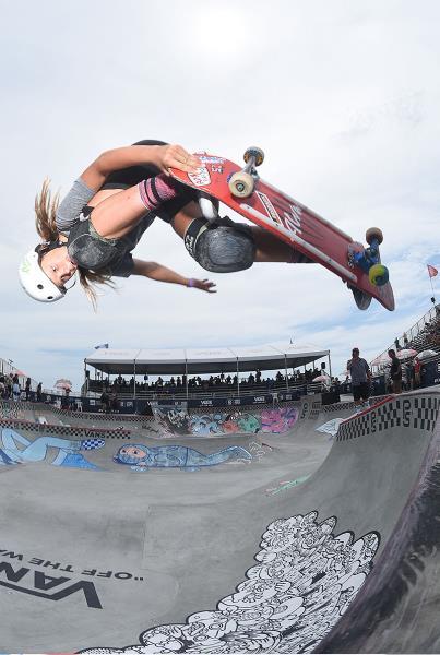 Extras from Huntington Beach VPS - Grace Backside Air