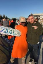 Congrats, Zion! Zion and Tom Curren.