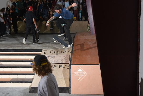 Best Trick at The Boardr Presented by Doom Sayers - 360 Flip NS