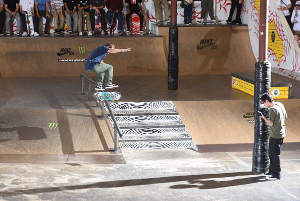 Tampa Am 2017 - Kickflip Front Board