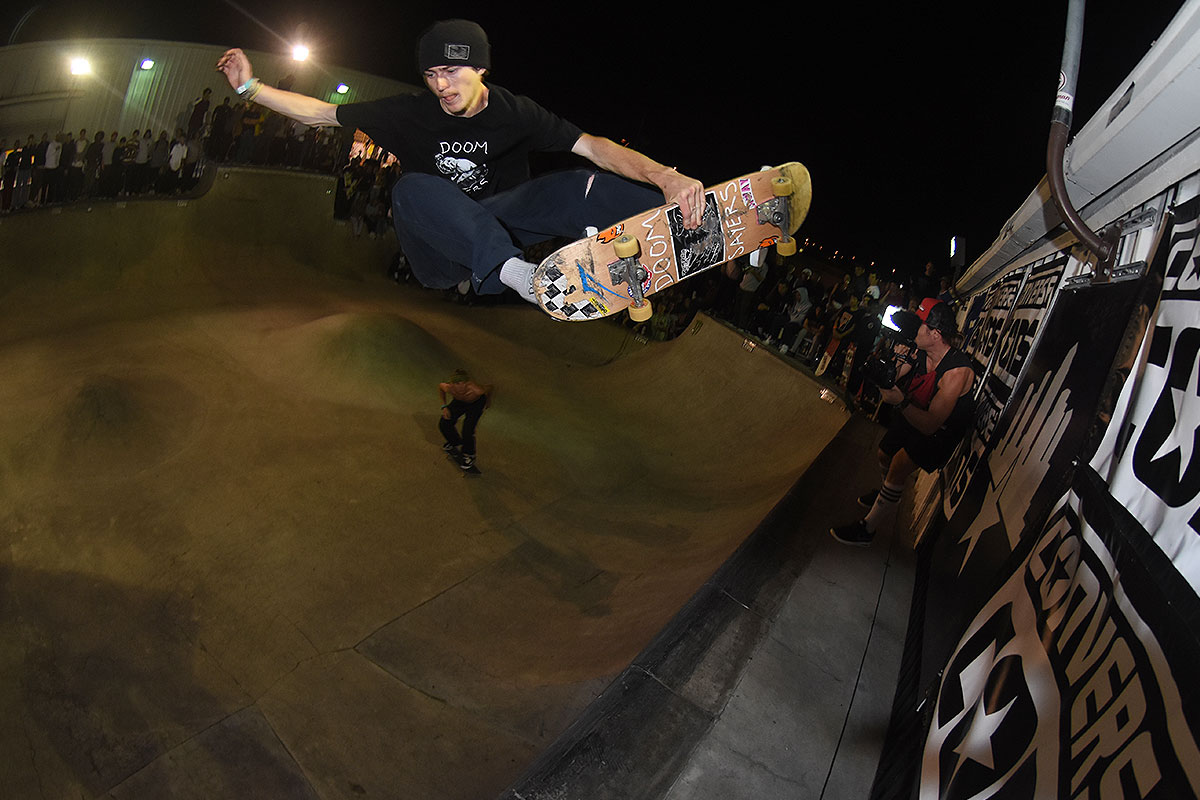 Tampa Am 2017 - Eli Keyhole Frontside Air