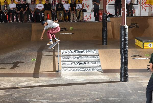 Tampa Am 2017 - Marcos KF Back Lip