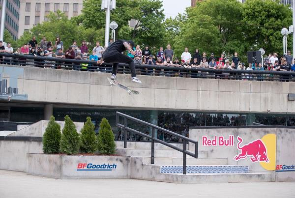 Red Bull Hart lines - Somers Photos - Nyjah KF FS Board