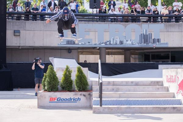 Red Bull Hart lines - Somers Photos - Decenzo FS Flip