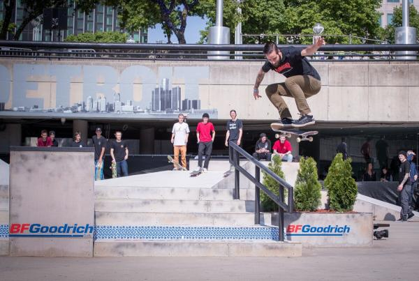 Red Bull Hart lines - Somers Photos  - Mike Krok Kickflip