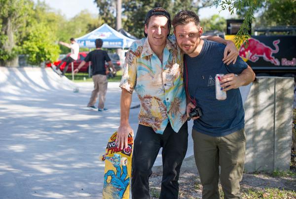 Justin Strubing and Seamus at Tampa Bro