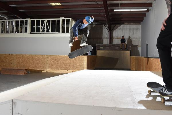 Construction Update - William Damascena Switch Flip