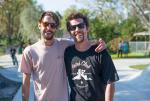 Stefan Janoski and Justin Brock are the best looking beards on the river.