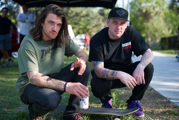 Dyet and John at Tampa Bro