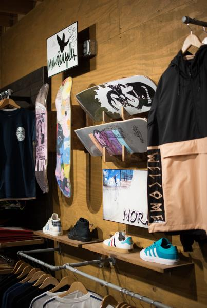A Tour of The Boardr Store and Facilities in Tampa - Nora and Gonz Rack
