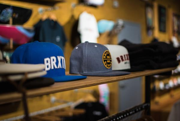 A Tour of The Boardr Store and Facilities in Tampa - Hat Selection