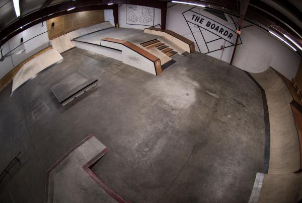 A Tour of The Boardr Store and Facilities in Tampa - Birds Eye View