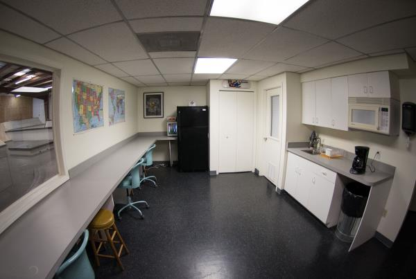 A Tour of The Boardr Store and Facilities in Tampa - Boardr Break Room