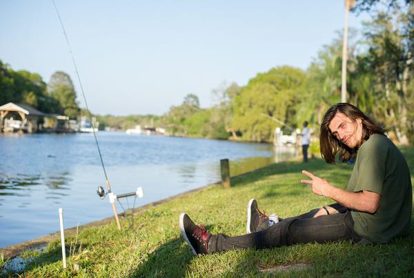 Adam Dyet Fishing at the Dream Driveway