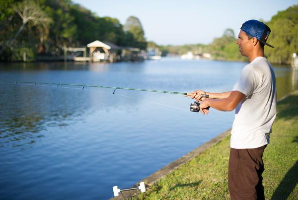 Dan Rogers Fishing at the Dream Driveway