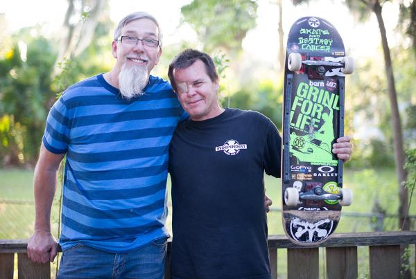 Paul Schmitt and Mike Rogers at the Dream Driveway