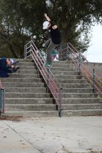 Jamie with the front crook.