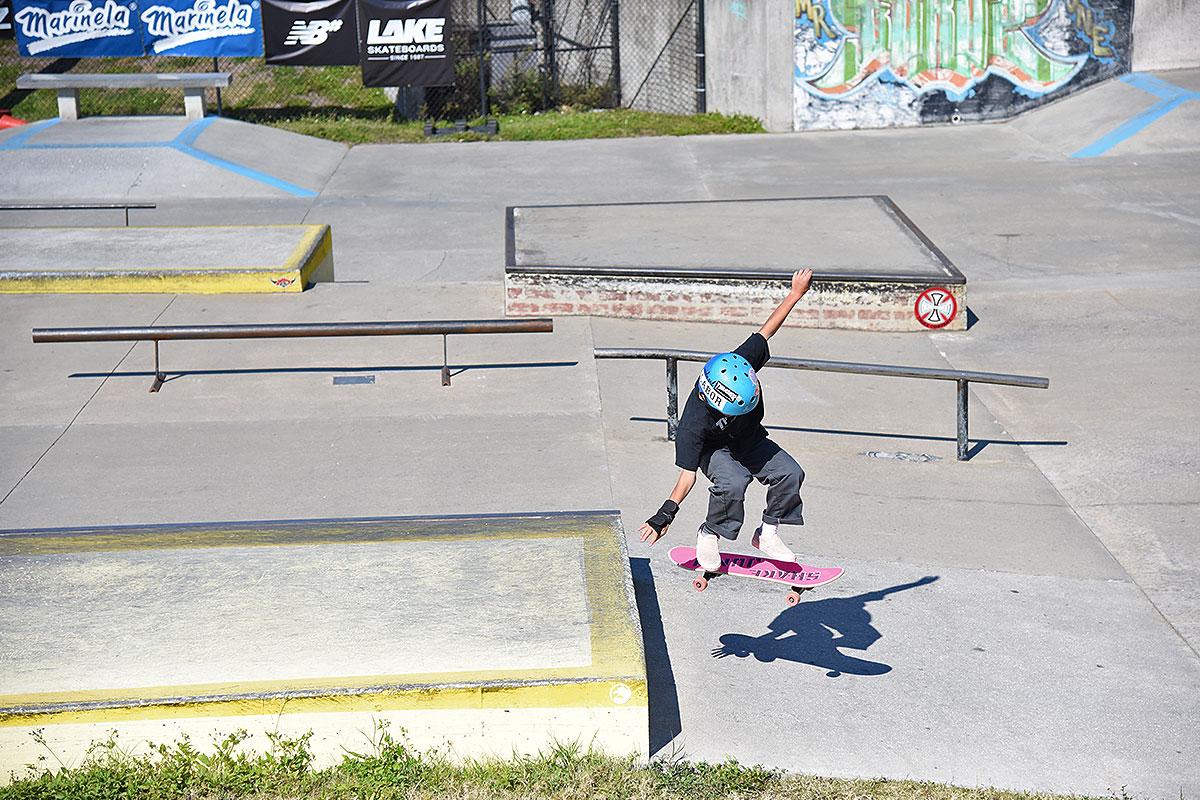 GFL at Sarasota 2018 - Benett kickflip