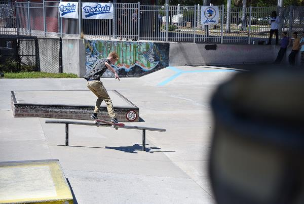 GFL at Sarasota 2018 - Feeble Grind