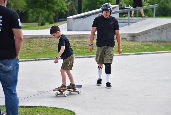 Jump the Creek - Skate Lessons.