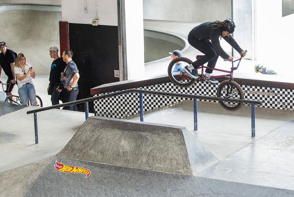 Eddie Peraza on the Street Course