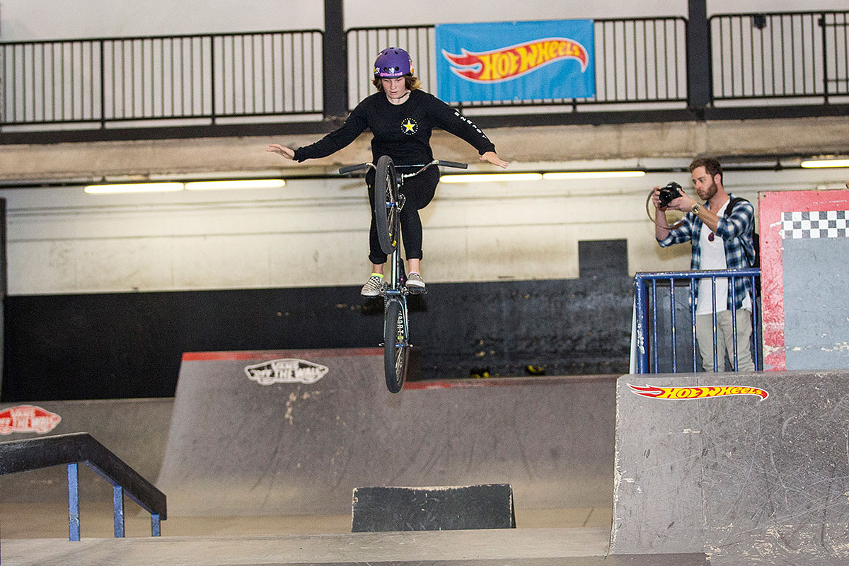 Jesse Gregory on the Street Course