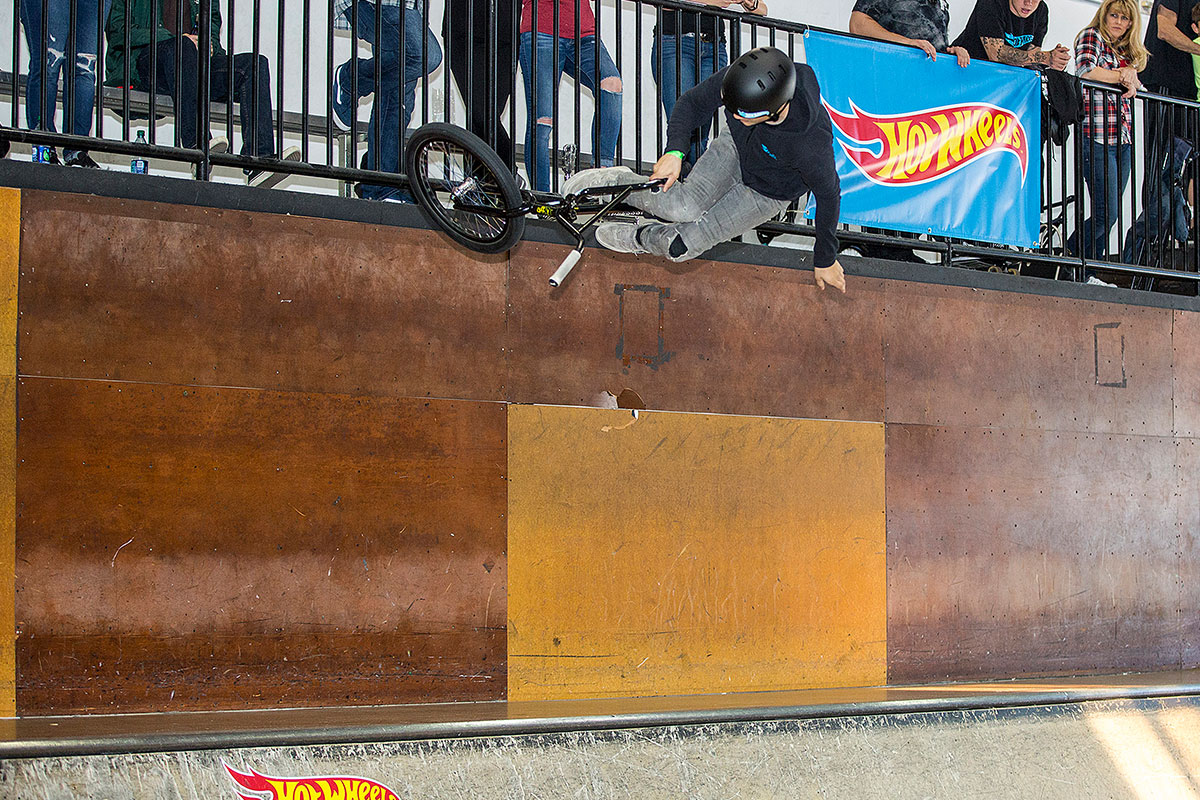 Kaden Stone in the Mini Ramp