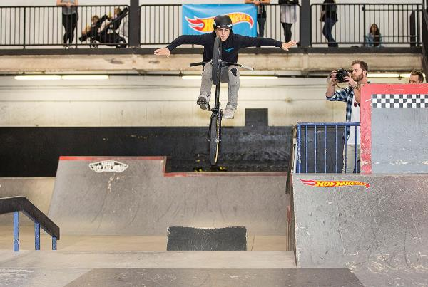 Kaden Stone on the Street Course