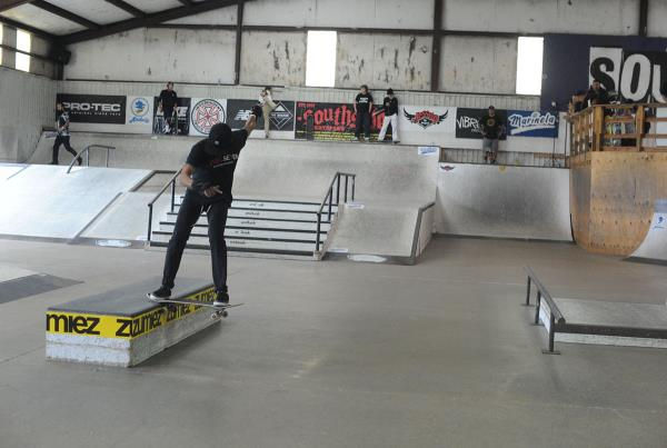 GFL Series Presented by Marinela at Houston - Noseslide