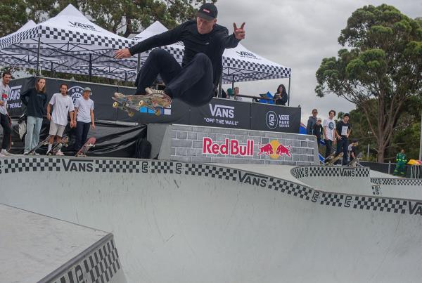 Vans Park Series Sydney - George Frontside Ollie