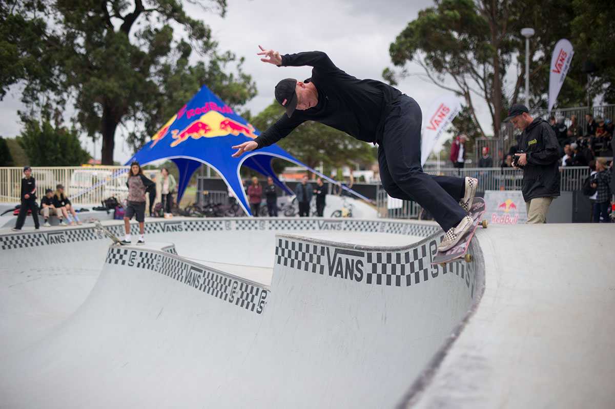 Vans Park Series Sydney - Back Smith