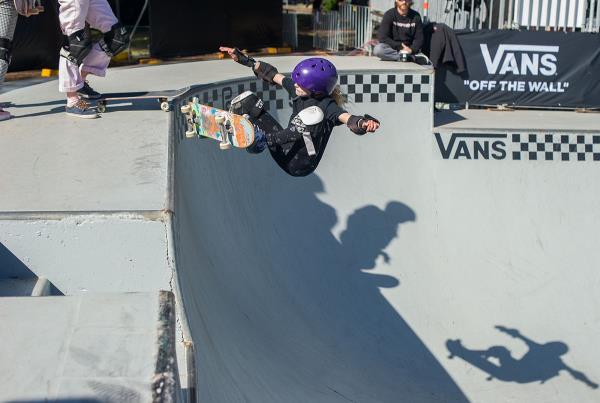 Vans Park Series Sydney - Frontside Ollie