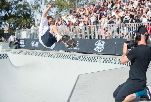 Vans Park Series Sydney - Nollie Oop